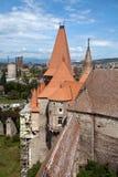 Het kasteel van Huniazilor royalty-vrije stock foto