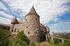 Het kasteel van Huniazilor royalty-vrije stock afbeelding