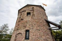 Het Kasteel van Huysdever in Lisse, Holland - Nederland Stock Afbeelding