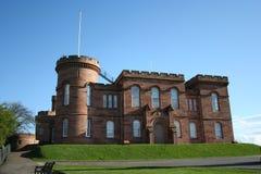 Het kasteel van Inverness Royalty-vrije Stock Afbeeldingen