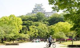 Het kasteel van Japan Himeji Stock Foto's