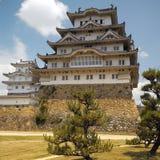 Het Kasteel van Japan - van Himeji stock foto's