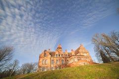 Het kasteel van Jaunmoku in Letland. Royalty-vrije Stock Foto's