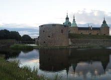 Het kasteel van Kalmar Stock Afbeelding
