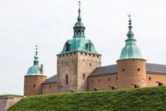 Het kasteel van Kalmar Stock Foto