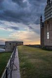 Het kasteel van Kalmar Stock Afbeeldingen