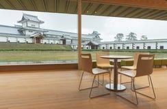 Het kasteel van Kanazawa, Japan Royalty-vrije Stock Foto's