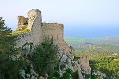 Het kasteel van Kantara Stock Fotografie