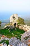 Het kasteel van Kantara Royalty-vrije Stock Afbeeldingen
