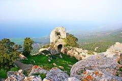 Het kasteel van Kantara Stock Foto's