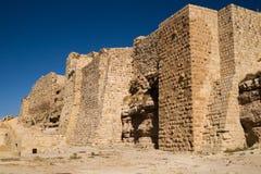 Het Kasteel van Karak Stock Afbeeldingen