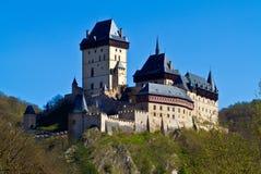 Het kasteel van Karl?tejn Stock Afbeeldingen