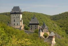 Het kasteel van Karlstejn Royalty-vrije Stock Afbeelding