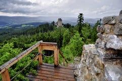 Het kasteel van Kasperk Stock Foto