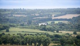 Het Kasteel van Kent Countryside en van Leeds Royalty-vrije Stock Foto's
