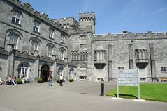 Het kasteel van Kilkenny, Ierland Royalty-vrije Stock Foto's