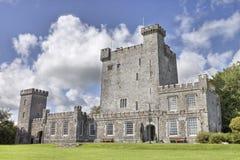 Het Kasteel van Knappogue in Co. Clare, Ierland. Stock Foto's