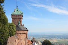 Het kasteel van Koenigsbourg van Haut Stock Foto