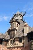 Het kasteel van Koenigsbourg van Haut Royalty-vrije Stock Afbeeldingen