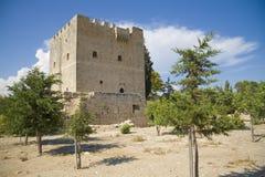 Het kasteel van Kolossi Royalty-vrije Stock Afbeeldingen