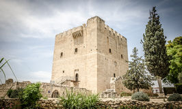 Het kasteel van Kolossi royalty-vrije stock afbeelding