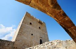 Het Kasteel van Kolossi, Cyprus Stock Foto