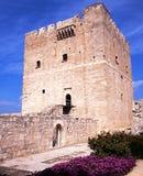 Het Kasteel van Kolossi, Cyprus Royalty-vrije Stock Fotografie