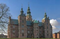 Het Kasteel van Kopenhagen Rosenborg Stock Foto's