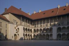Het Kasteel van Krakau Wawel Royalty-vrije Stock Foto