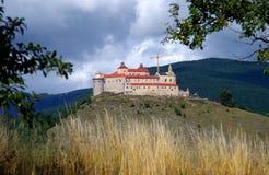 Het Kasteel van Krasnahorka, Roznava Slowakije Stock Fotografie
