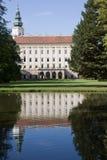 Het kasteel van Kromeriz Stock Foto