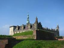 Het kasteel van Kronborg Stock Foto's
