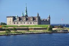 Het kasteel van Kronborg Stock Afbeelding
