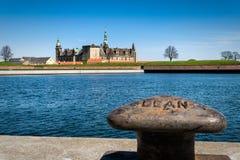 Het kasteel van Kronborg in Helsingor, Denemarken Stock Fotografie
