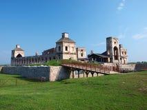 Het kasteel van Krzyztopor, Ujazd, Polen royalty-vrije stock afbeelding