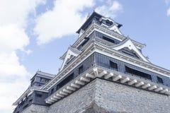 Het Kasteel van Kumamoto in Japan Royalty-vrije Stock Afbeeldingen