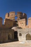 Het Kasteel van La Mota in Spanje stock foto's