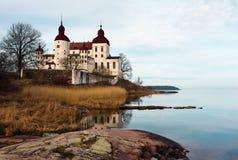 Het kasteel van Lacko Stock Afbeeldingen