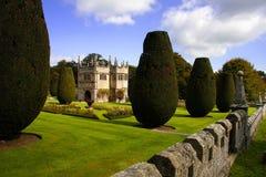 Het kasteel van Lanhydrock, het UK stock afbeelding