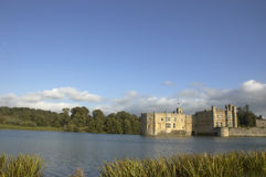 Het kasteel van Leeds Stock Afbeelding