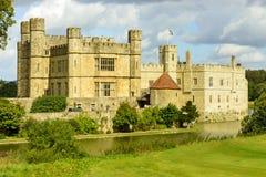Het kasteel van Leeds, Maidstone, Engeland Stock Afbeelding