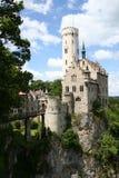 Het kasteel van Lichtenstein Stock Fotografie