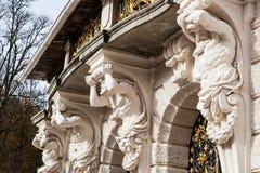 Het Kasteel van Linderhof stock fotografie