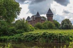 Het kasteel van Linn van Burg Royalty-vrije Stock Afbeeldingen