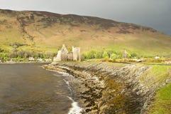 Het Kasteel van Lochranza stock fotografie
