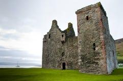 Het Kasteel van Lochranza stock foto