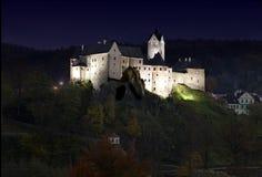 Het kasteel van Loket Stock Afbeelding
