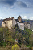 Het kasteel van Loket, Tsjechische Republiek Stock Foto's