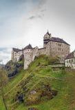 Het kasteel van Loket, Tsjechische Republiek Stock Foto