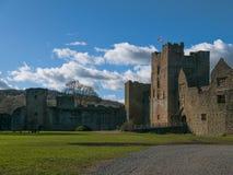 Het kasteel van Ludlow Royalty-vrije Stock Afbeelding